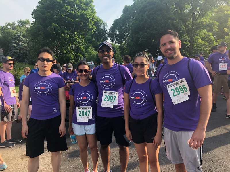 Katalyst sponsors and participates in the 2018 Ricky Byrdsong's Race Against Hate